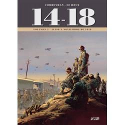 14-18 VOL. 05: JULIO Y NOVIEMBRE DE 1918
