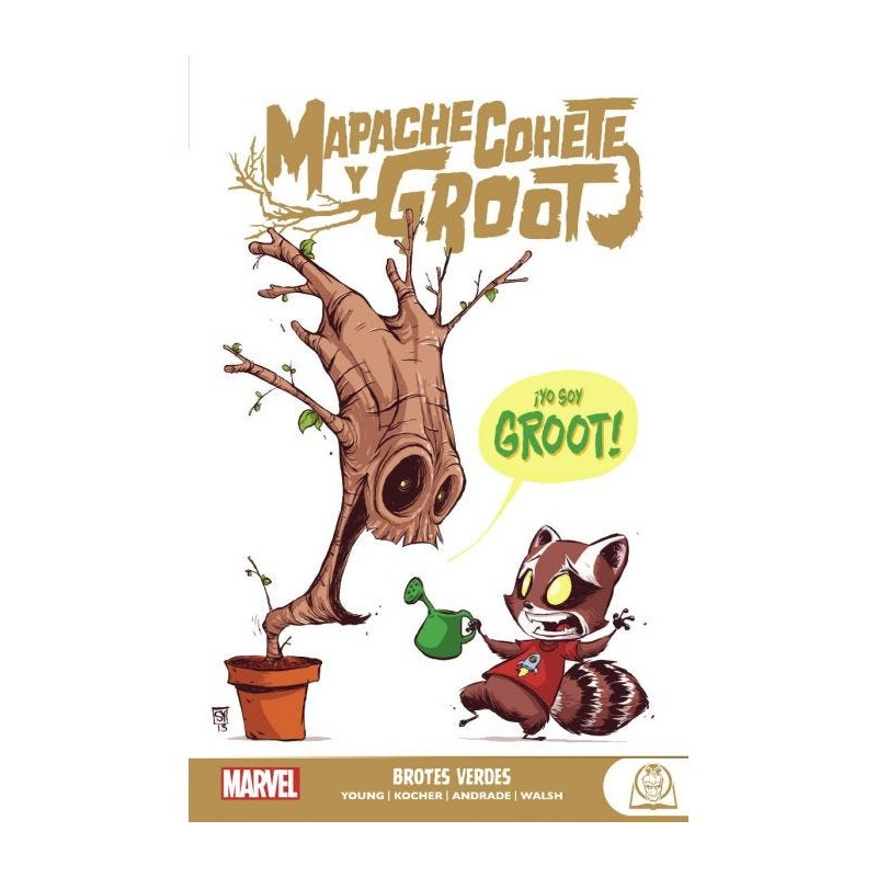 MARVEL YOUNG ADULTS MAPACHE COHETE Y GROOT VOL. 01