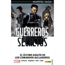 GUERREROS SECRETOS VOL. 04 EL ÚLTIMO ASALTO DE LOS COMANDOS AULLADORES (MARVEL SAGA)