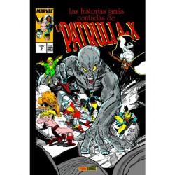 LAS HISTORIAS JAMÁS CONTADAS DE LA PATRULLA-X VOL.02  (MARVEL GOLD)