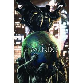BATMAN: EL MUNDO - PORTADA LEE BERMEJO