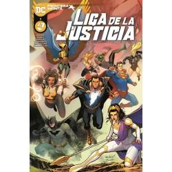 LIGA DE LA JUSTICIA Nº 01 / 116 FRONTERA INFINITA