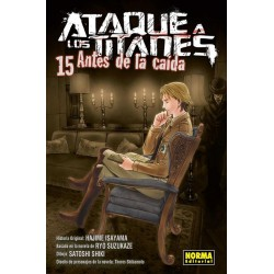 ATAQUE A LOS TITANES: ANTES DE LA CAÍDA Nº 15