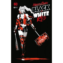 HARLEY QUINN: BLACK, WHITE AND RED (OCASIÓN)