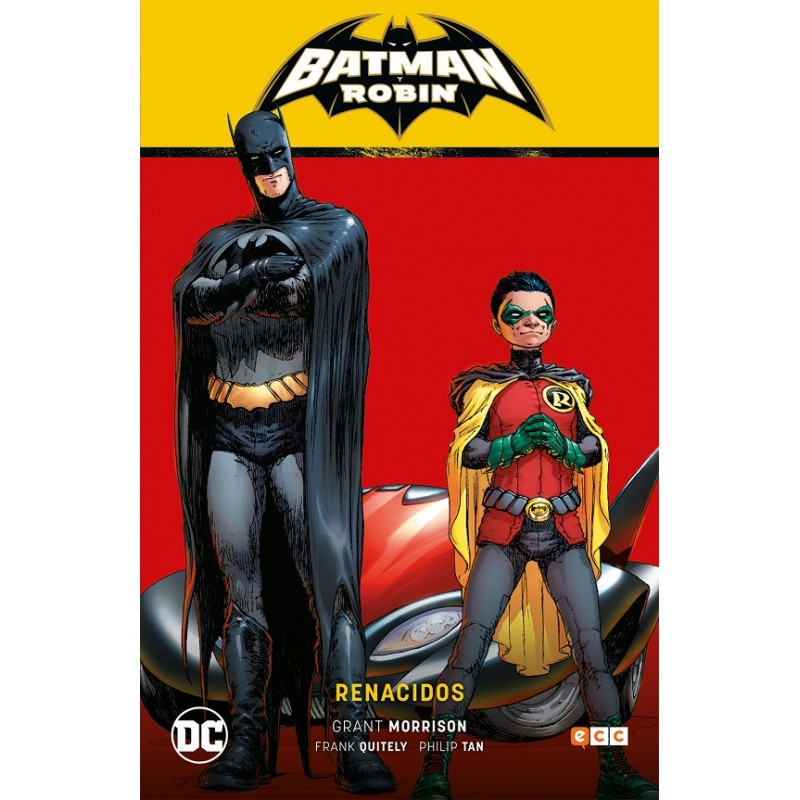 BATMAN Y ROBIN VOL. 01: RENACIDOS (BATMAN SAGA)