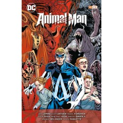 ANIMAL MAN DE JEFF LEMIRE: EL REINO ROJO (INTEGRAL)