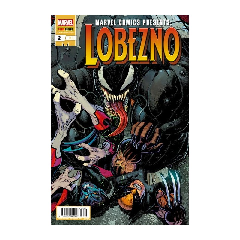 MARVEL COMIC PRESENTS: LOBEZNO Nº 02 ( DE 3)