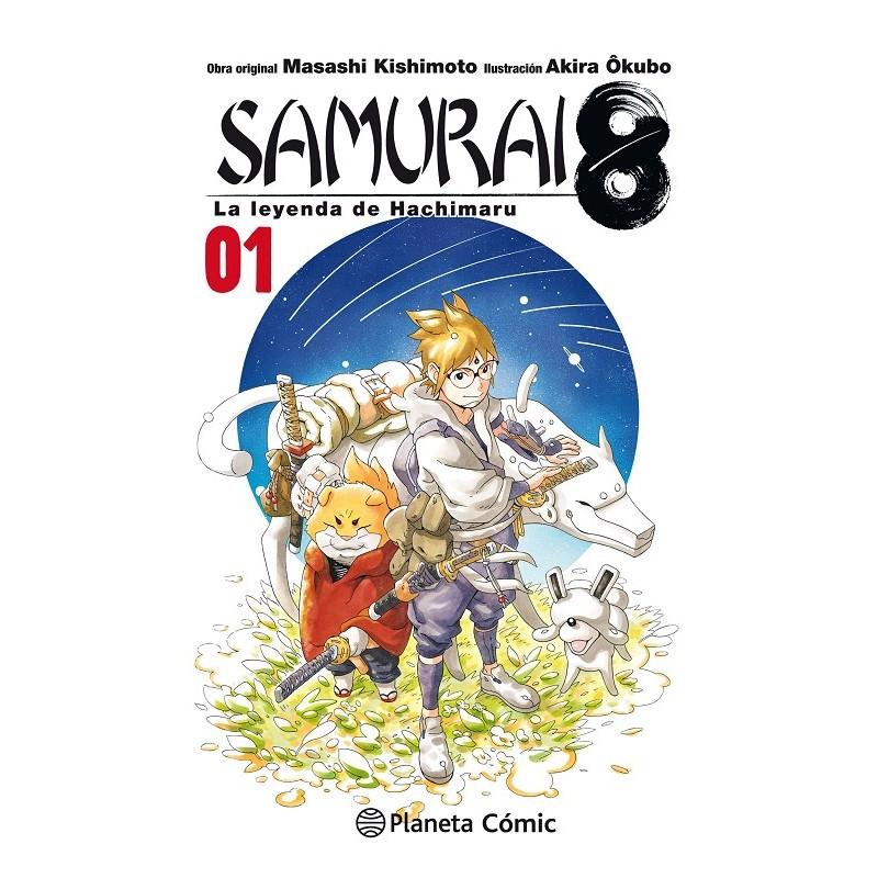 SAMURAI 8: LA LEYENDA DE HACHIMARU Nº 01