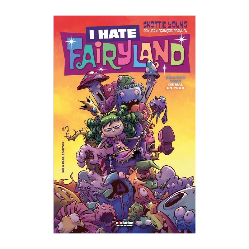 I HATE FAIRYLAND VOL. 02: DE MAL EN PEOR