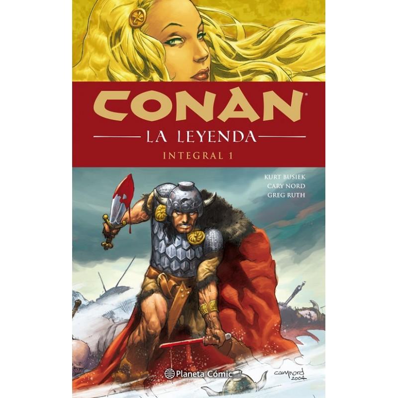 CONAN LA LEYENDA (INTEGRAL) Nº 01 (DE 4)