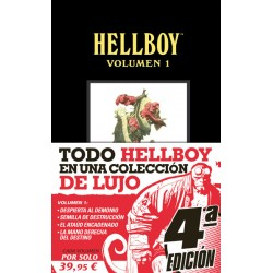 HELLBOY EDICIÓN INTEGRAL VOLUMEN 1