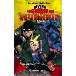 MY HERO ACADEMIA: VIGILANTE ILLEGALS Nº 01