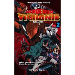 MY HERO ACADEMIA: VIGILANTE ILLEGALS Nº 02