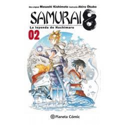 SAMURAI 8: LA LEYENDA DE HACHIMARU Nº 02
