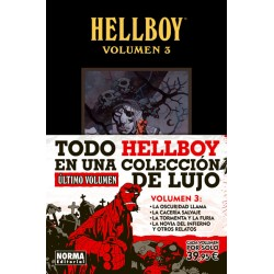 HELLBOY EDICIÓN INTEGRAL VOLUMEN 3