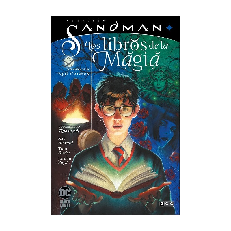 UNIVERSO SANDMAN: LOS LIBROS DE LA MAGIA VOL. 1 TIPO MOVIL (BLACK LABEL)