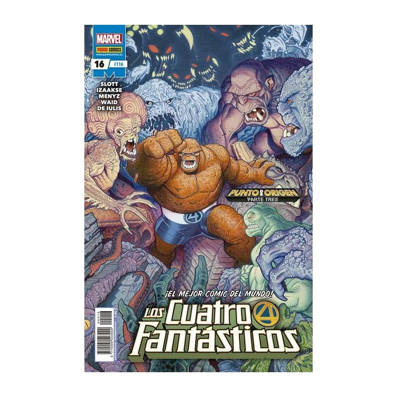 LOS CUATRO FANTÁSTICOS Nº 16 / 116