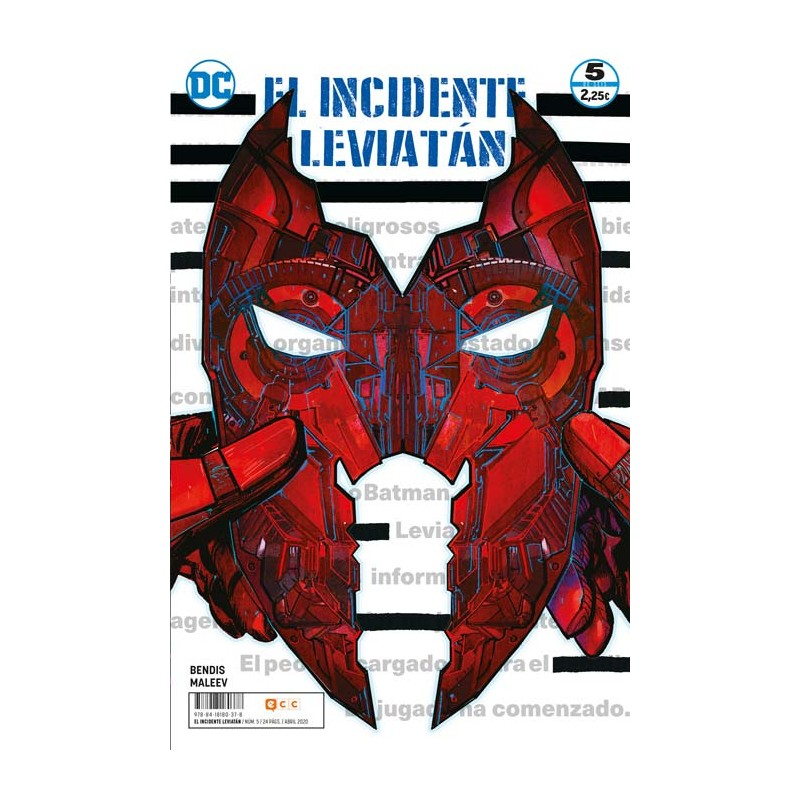 EL INCIDENTE LEVIATÁN Nº 05 (DE 6)