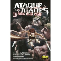 ATAQUE A LOS TITANES: ANTES DE LA CAÍDA Nº 16