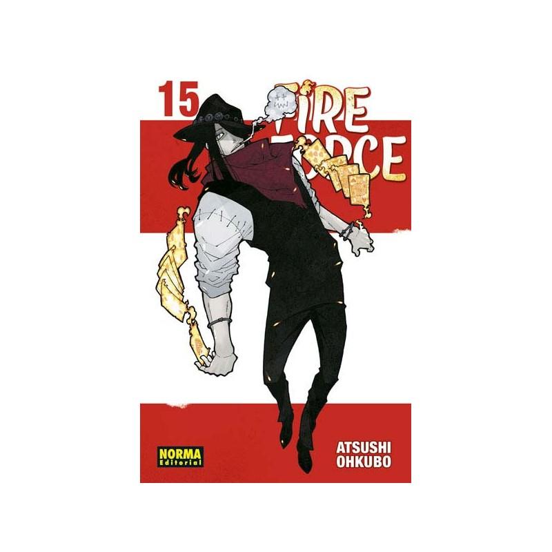 FIRE FORCE Nº 15