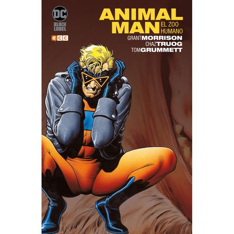 BIBLIOTECA GRANT MORRISON: ANIMAL MAN NÚM. 01 (DE 3)