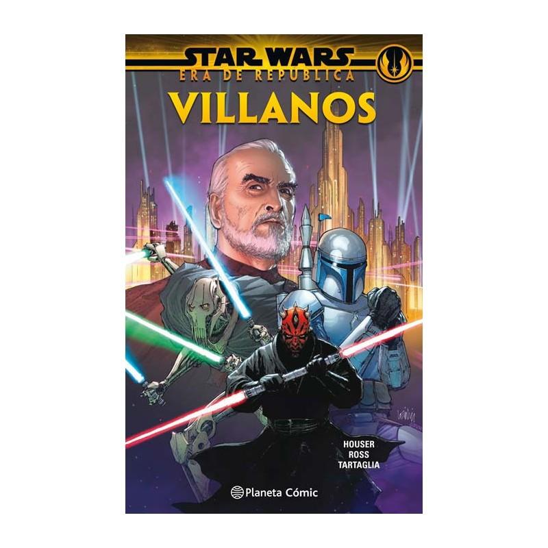 STAR WARS ERA DE LA REPÚBLICA: VILLANOS