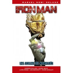 MARVEL NOW! DELUXE: IRON MAN DE KIERON GILLEN...