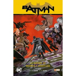 BATMAN DE TOM KING VOL. 06: LA GUERRA DE BROMAS Y ACERTIJOS