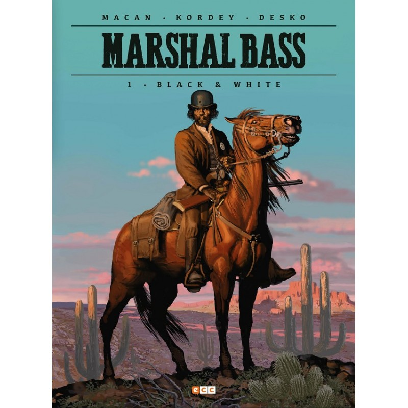 MARSHAL BASS VOL. 01: BLACK & WHITE