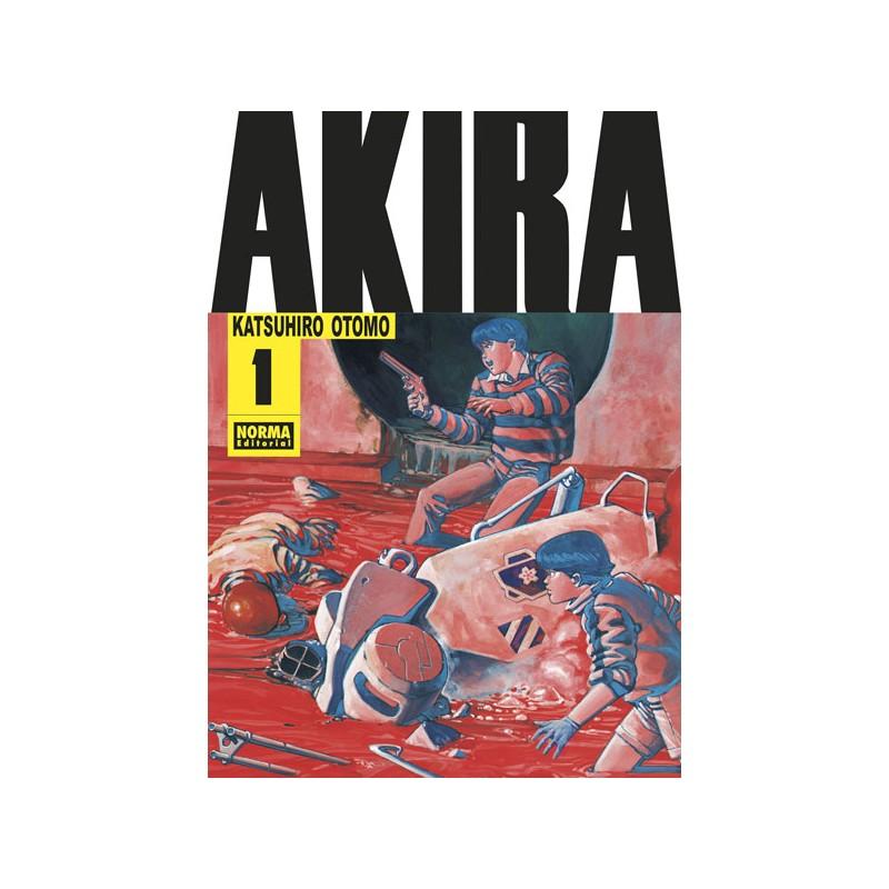 AKIRA 01 (DE 6) EDICIÓN ESPECIAL B/N