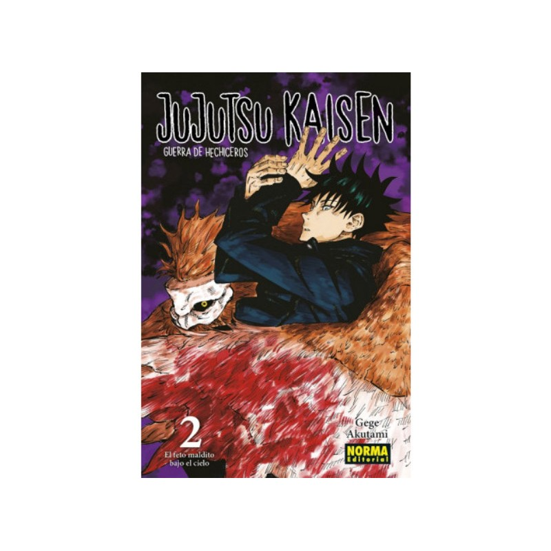 JUJUTSU KAISEN Nº 02
