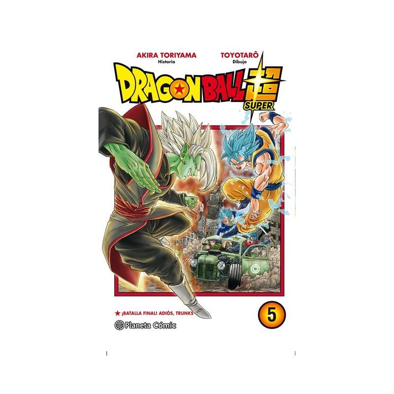 DRAGON BALL SUPER Nº 05: BATALLA FINAL! ADIÓS, TRUNKS!