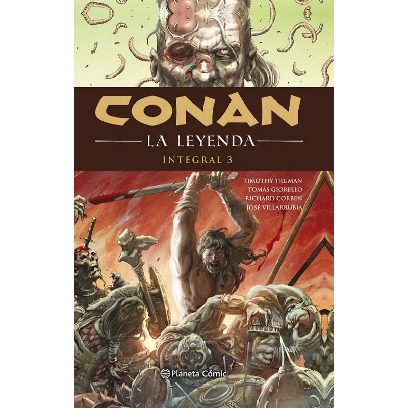 CONAN LA LEYENDA (INTEGRAL) Nº 03 (DE 4)