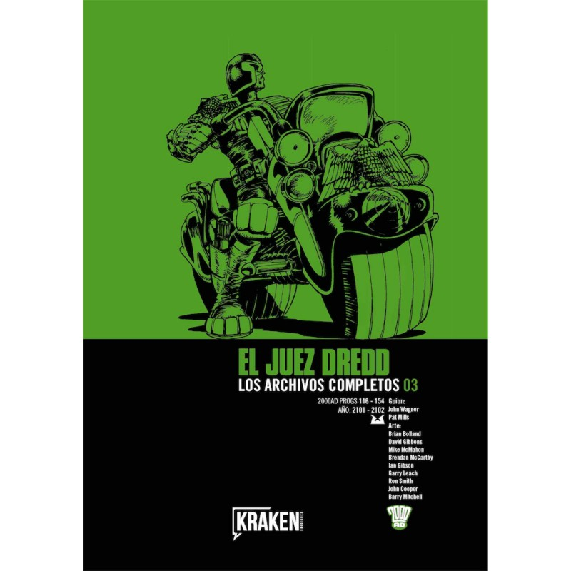 JUEZ DREDD: LOS ARCHIVOS COMPLETOS VOL. 03
