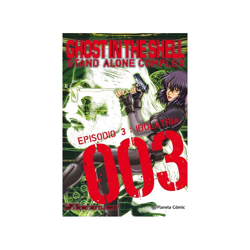 GHOST IN THE SHELL STAND ALONE COMPLEX Nº 03 (DE 05)