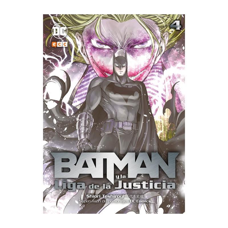 BATMAN Y LA LIGA DE LA JUSTICIA Nº 04 (Manga)