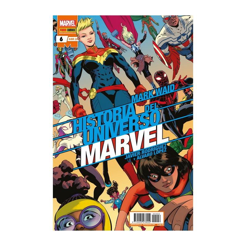 HISTORIA DEL UNIVERSO MARVEL Nº 06