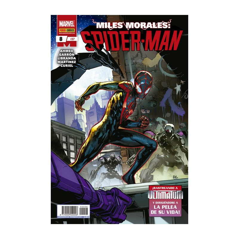 MILES MORALES: SPIDER-MAN Nº 08 / 37