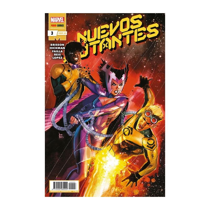 NUEVOS MUTANTES Nº 03