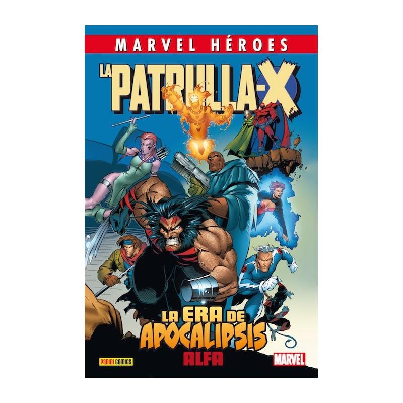 MARVEL HEROES 72: LA PATRULLA-X LA ERA DE APOCALIPSIS - ALFA