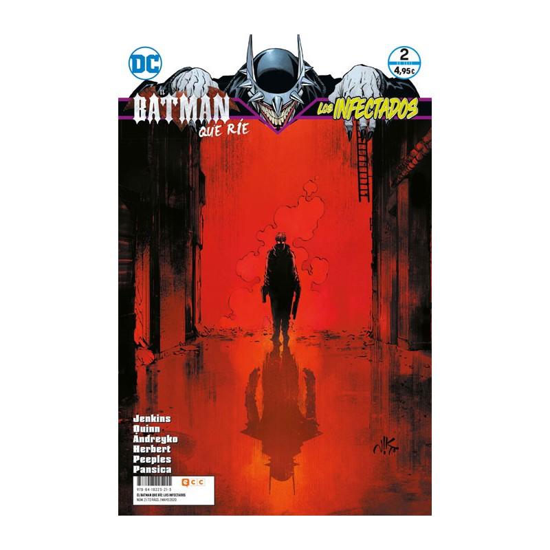 EL BATMAN QUE RÍE: LOS INFECTADOS Nº 02 (DE 6)
