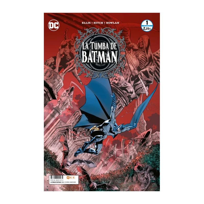 LA TUMBA DE BATMAN Nº 01