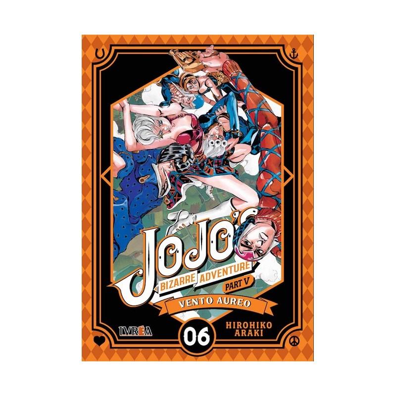 JOJO'S BIZARRE ADVENTURE PARTE 5: VENTO AUREO Nº 06