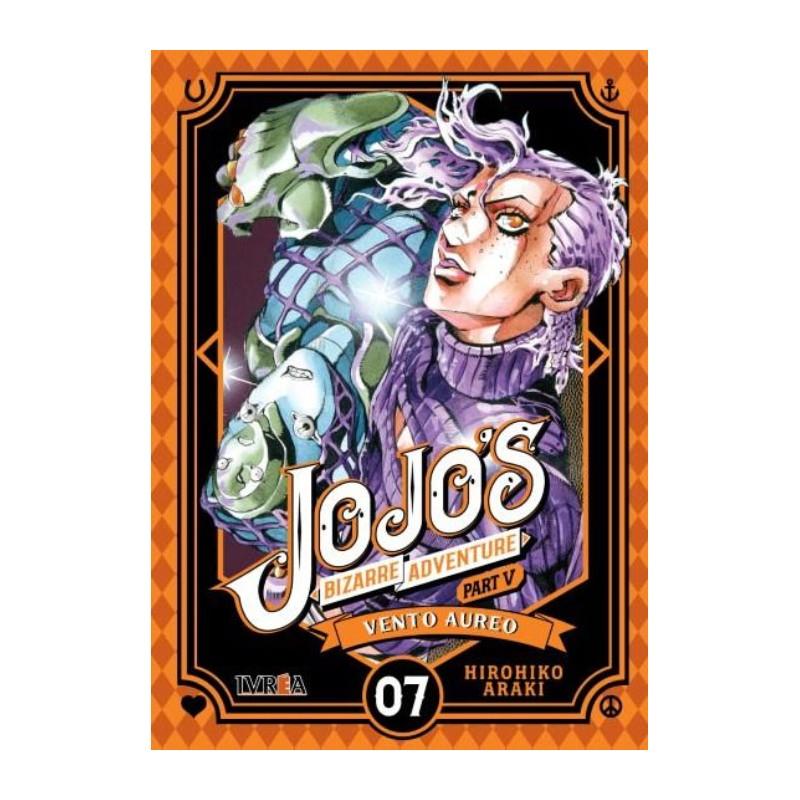 JOJO'S BIZARRE ADVENTURE PARTE 5: VENTO AUREO Nº 07