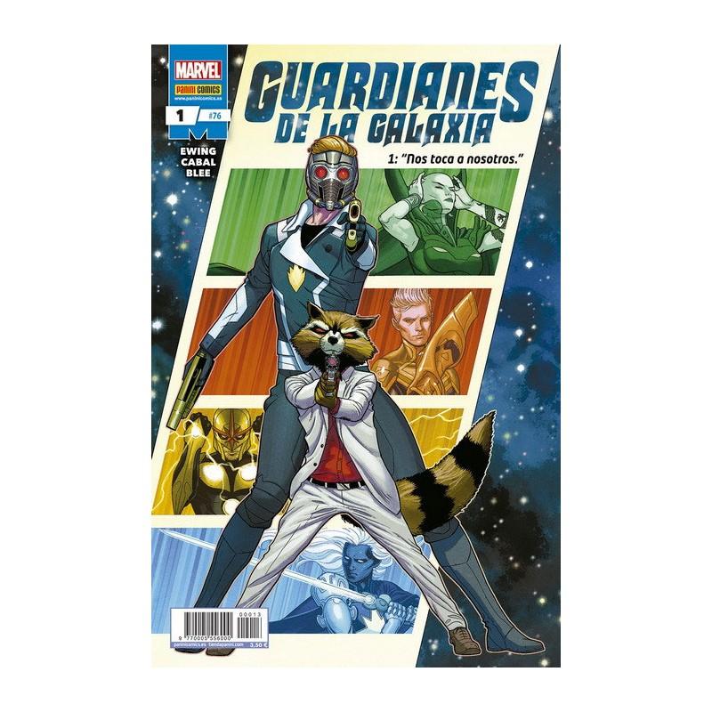 GUARDIANES DE LA GALAXIA Nº 01 / 76