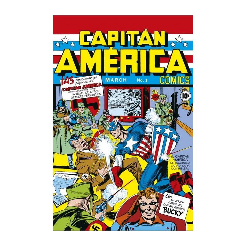 MARVEL FACSIMIL Nº 13: CAPITÁN AMÉRICA COMICS 01