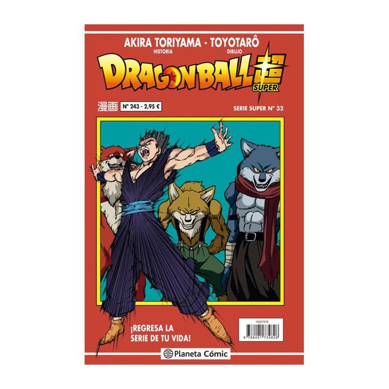 DRAGON BALL SUPER SERIE ROJA Nº 243