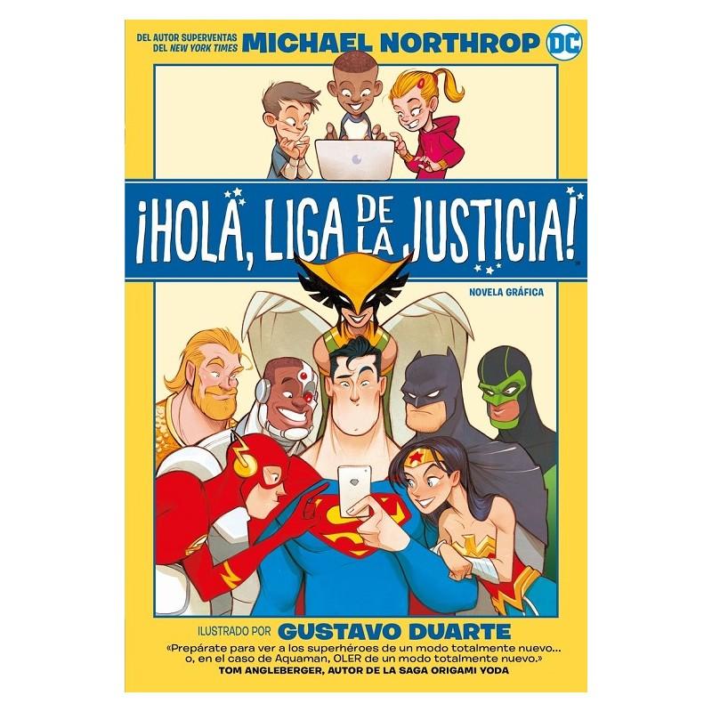 HOLA, LIGA DE LA JUSTICIA !