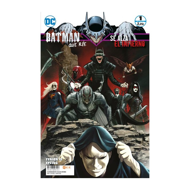 EL BATMAN QUE RÍE: SE ALZA EL INFIERNO Nº 01 (DE 4)