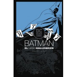 BATMAN: EL LARGO HALLOWEEN (BIBLIOTECA DC BLACK LABEL)